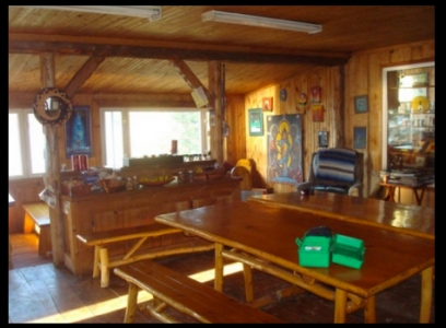 Main Lodge at Blue Fox Camp