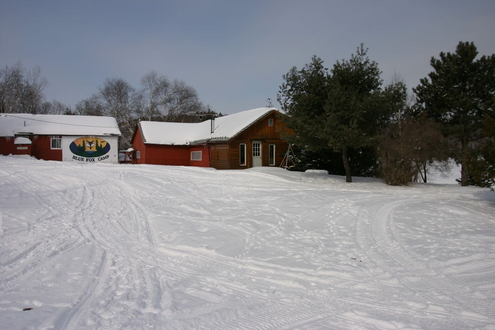 Blue Fox Camp winter